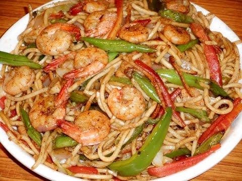 Prawn Noodles- Non Veg Noodles Recipe.