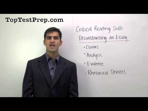 ★★ How to Improve Your Critical Reading on Exams | TopTestPrep.com