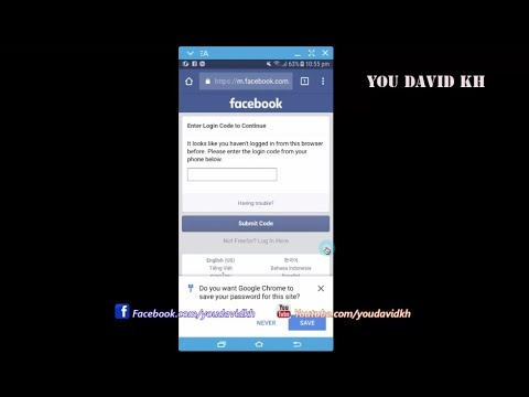 How to Submit Turn Off Two factor authentication facebook