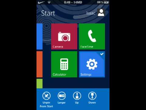 How to Install Windows 8 on an iPhone