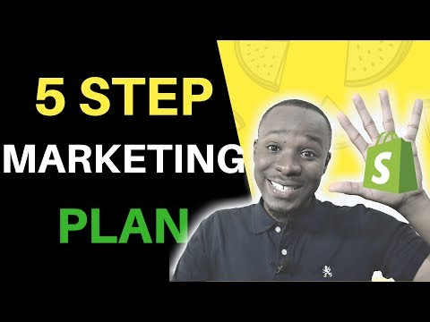 How to Create a 6 Figure Shopify Dropshipping Marketing Plan (5 Steps)