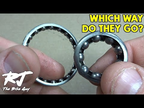 Caged Bearings - Which Direction Do They Go?