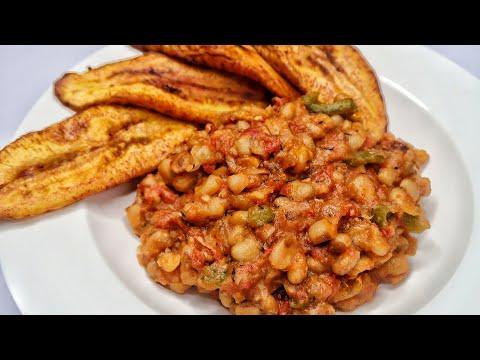 NIGERIAN BEANS | NO PALM OIL