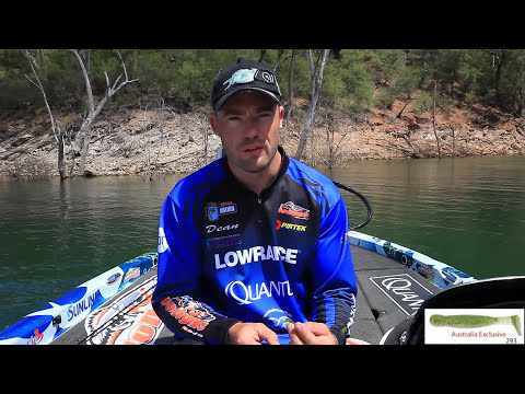 Bass fishing - How to catch Australian Bass on soft plastics - Dean Silvester