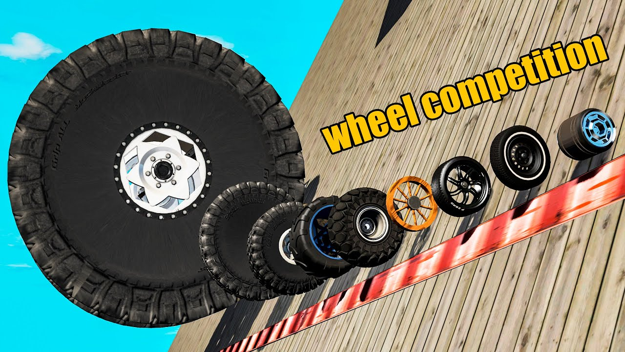 Wheels Competition - Who is better? - Beamng drive