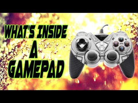 What's Inside A Gamepad/Game Controller