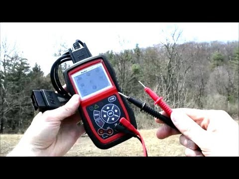 Autel AL539 OBDII Scanner and Multimeter Combo Tool Review