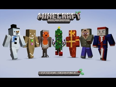 How To Download The Festive Skin Pack For Minecraft (PS3)