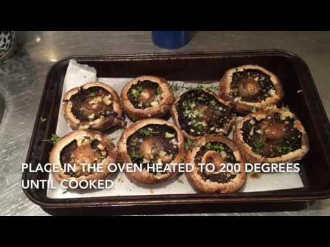 Oven Roasted Mushrooms