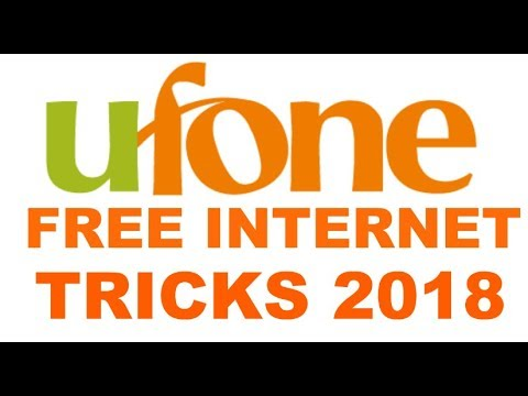 Ufone Free Internet Tricks 3g/4g |Android Mobile Free Internet Ufone  2018