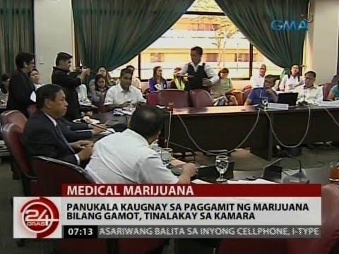 24Oras: Panukala kaugnay sa paggamit ng marijuana bilang gamot, tinalakay sa Kamara