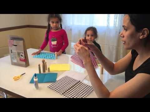 Craft Friday: Making Wooden Peg Dolls Children Craft
