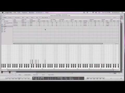 Logic EXS24 : Creating Your Own Multi-Sampled Instrument Part 2