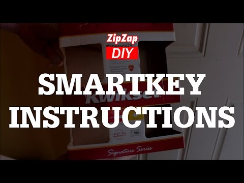 Kwikset Smartkey Rekey Instructions