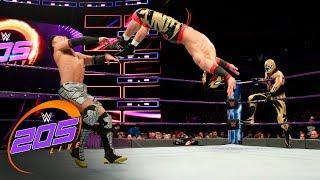 Gran Metalik & Lince Dorado vs. Hideo Itami & Akira Tozawa: WWE 205 Live, March 13, 2018