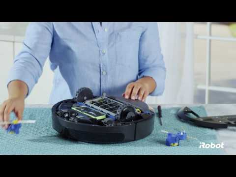 How to Replace the Side Brush Module | Roomba® 600 Series Robot Vacuums
