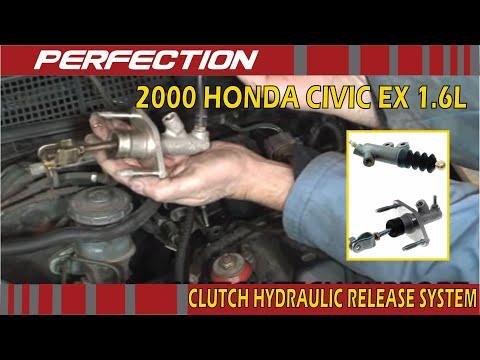 2000 Honda Civic EX 1.6L Clutch Hydraulic Release System