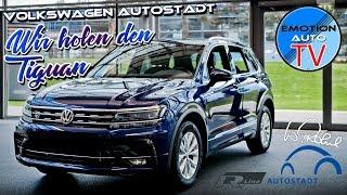 Volkswagen Autostadt Wolfsburg - Wir holen den neuen VW Tiguan R - Line!