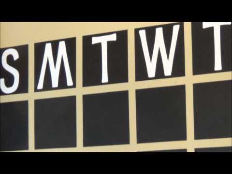 Episode 121: Pinterest Inspired Family Chalkboard Calendar