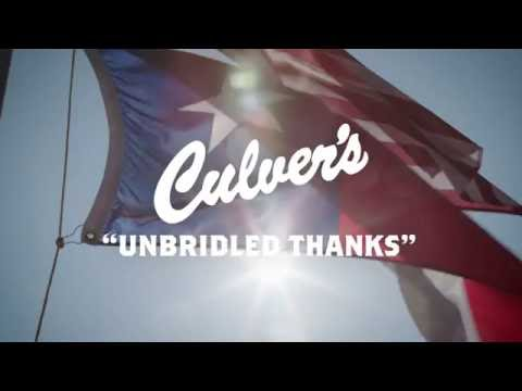 Unbridled Thanks | Culver's