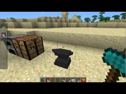Tutorial #1 - Minecraft PIXELMON 1.7.6B - How to Make Pokeballs!