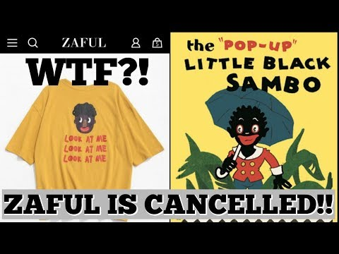 ZAFUL IS CANCELLED FOR THIS RACIST STUNT !! WTF IS THIS?!