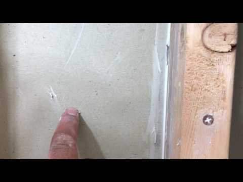 Removing medicine cabinet and repairing opening