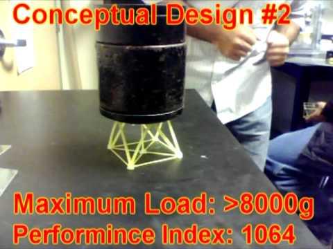 Spaghetti Bridge - Conceptual Designs (ME 380)