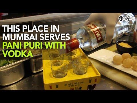 Vodka Pani Puri At Mumbai Vibe   Curly Tales