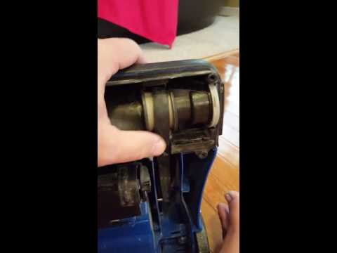 Replacing belt on Bissell PowerForce upright vacuum