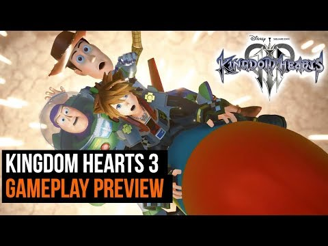 Kingdom Hearts 3 Gameplay Preview