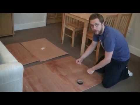 How to build a table top gaming board