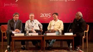 Mushaire Ka Badalta Rang Roop at Jashn-e-Rekhta-2015 with Ravish Kumar, Munawwar Rana..
