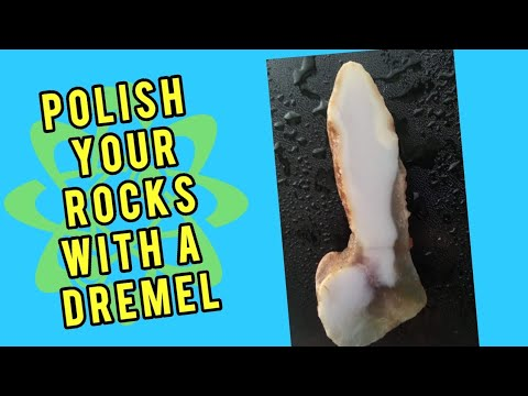 How to polish stones with a dremel part 3 of 3