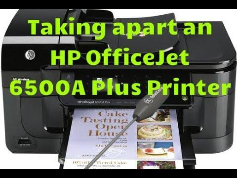 Taking apart HP Officejet 6500A Plus E710n