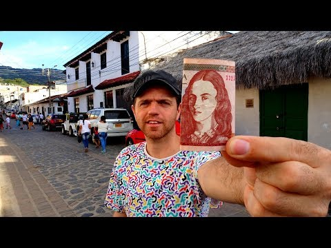 At the Town Square - A Short Visit to Guaduas in Colombia