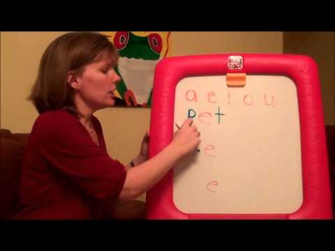 ❉ 2015 ❉ How To Teach A Child To Read  Three Letter Words