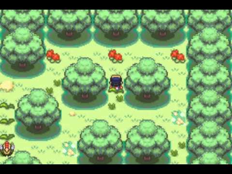 pokemon shiny gold walkthrough part 8: ilex forest obtaining HM01 cut