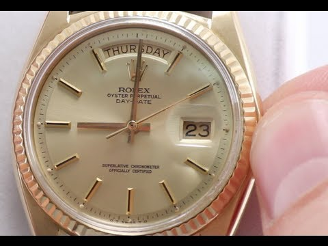 How to Set Day & Date on Your Rolex Watch