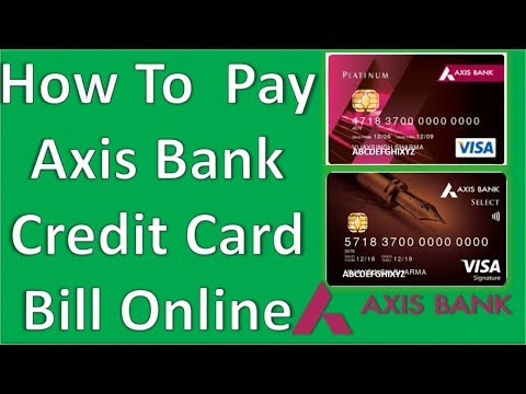 Online Credit Card Payment - Pay Credit Card Bills Online - Axis Bank, Axis Card Payment Online