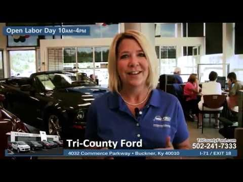 Tri-County Ford: Labor Day 2016 Sales Event - Happening Now