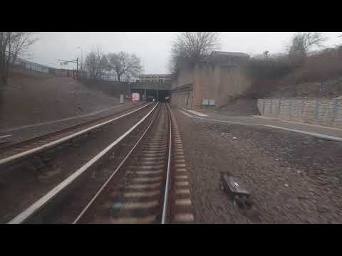 PATCO RFW Finale - Mickle Street Tunnel Westbound