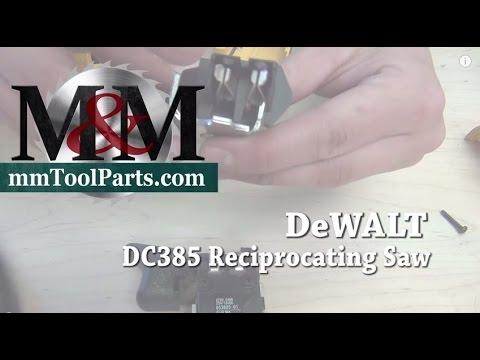 DeWALT DC385 Switch Replacement