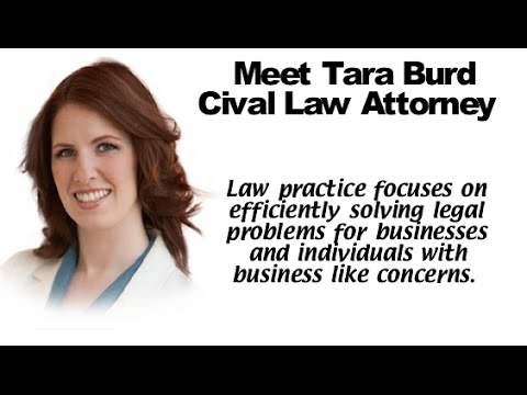 Tara Burd Civil Law Attorney San Diego Who Am I What Do I Do