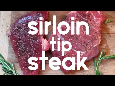 How to Cook Sirloin Tip Steak (45 second instructions)