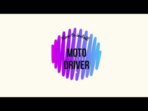 How to install Motorola USB Driver