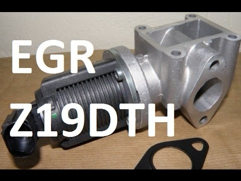 How to remove, clean, replace EGR 1.9 cdti JTDm 16V Z19dth Vectra Astra Zafira Alfa Romeo Saab