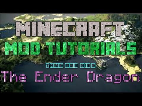 Attack of the BTeam:: Riding and Taming the Ender Dragon:: Minecraft Tutorial