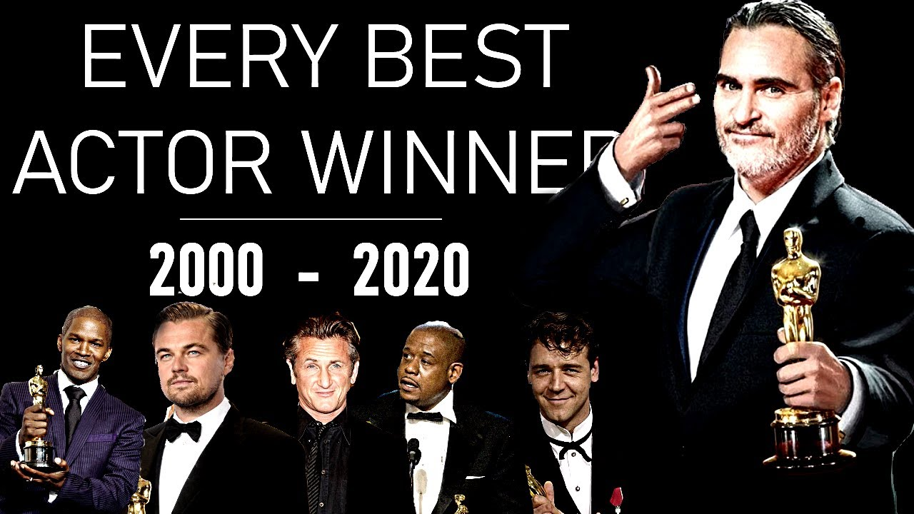 OSCARS : Best Actor (2000-2020) - TRIBUTE VIDEO
