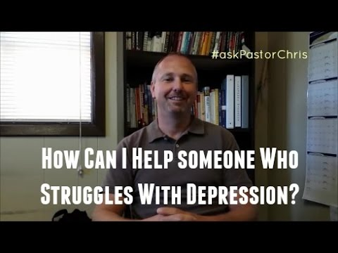 #askPastorChris S1E9 - My wife struggles with depression.  How can I help her?